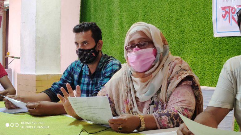 ঠাকুরগাঁওয়ে শিক্ষার্থী ভর্তিতে জেলা প্রশাসকের বিরুদ্ধে অনিয়মের অভিযোগ: সংবাদ সম্মেলন